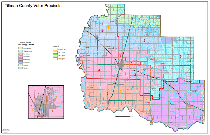 Precincts and Commissioner Districts